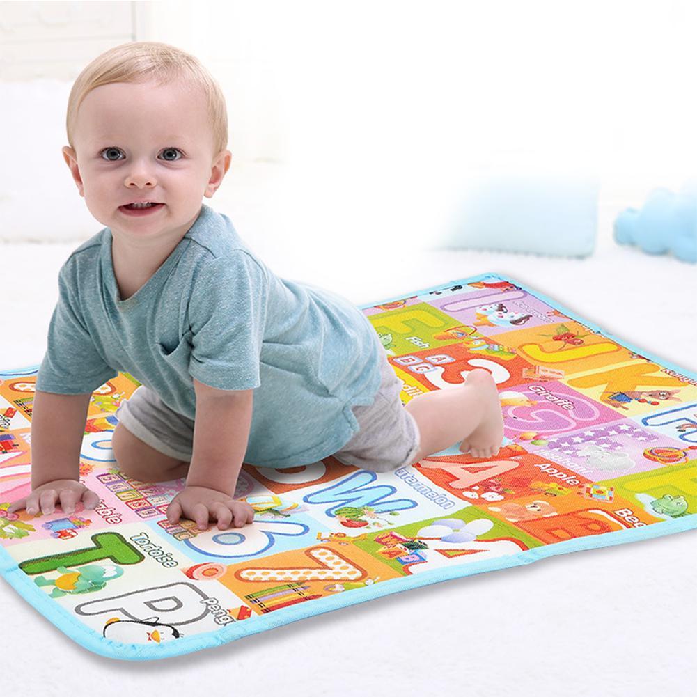 RCtown 78x62CM Kids Cartoon Game Mat Play Crawling Gym Blanket Floor Rug Decoration ...