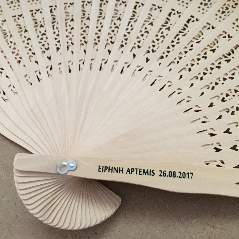 Free shipping 50pcs/lot Chinese fragrance wood fan wedding hand fan with personalized bride & groom's name and wedding date