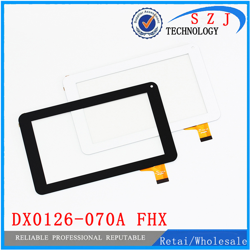 New 7'' inch DX0126-070A FHX Tablet Touch Screen Panel Digitizer Glass Sensor Replacement Tablet Touchscreen Free shipping 10pcs mf 786 070f fhx touch screen screen 7 inch touch screen handwriting version of the call