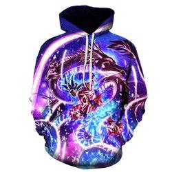 Hot Anime Dragon Ball Hoodies Men Women 3D Sweatshirts Super Saiya Vegeta Kids Goku Hoodie Male Casual Coat Cartoon Boys Outwea 3