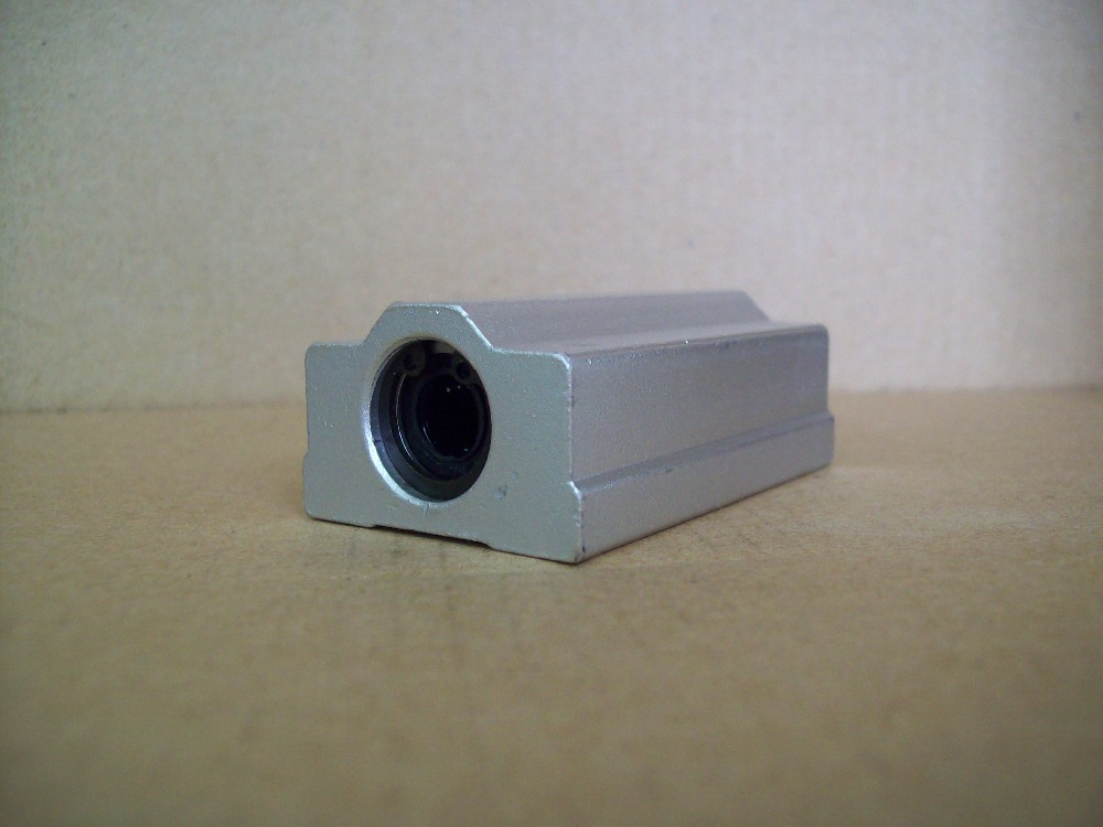 SC60LUU SCS60LUU bearing 60mm linear bearing slide block for 60mm rod round shaft XYZ Table CNC 1pcs стоимость