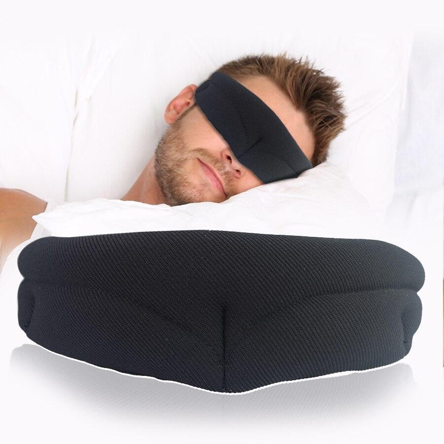 Neue! Mode Schlaf Maske Rest Reise Entspannen Schlaf-beihilfen Augen Maske Augenbinde Tragbare Weichen Abdeckung Eye Patch Für männer frauen