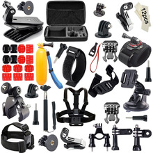 JACQUELINE for Selfie Stick Folating Hand Grip Action Camera Accessories Kits for Gopro hero HD 5 4/3/2/SJ6000 H9R H9 H9SE