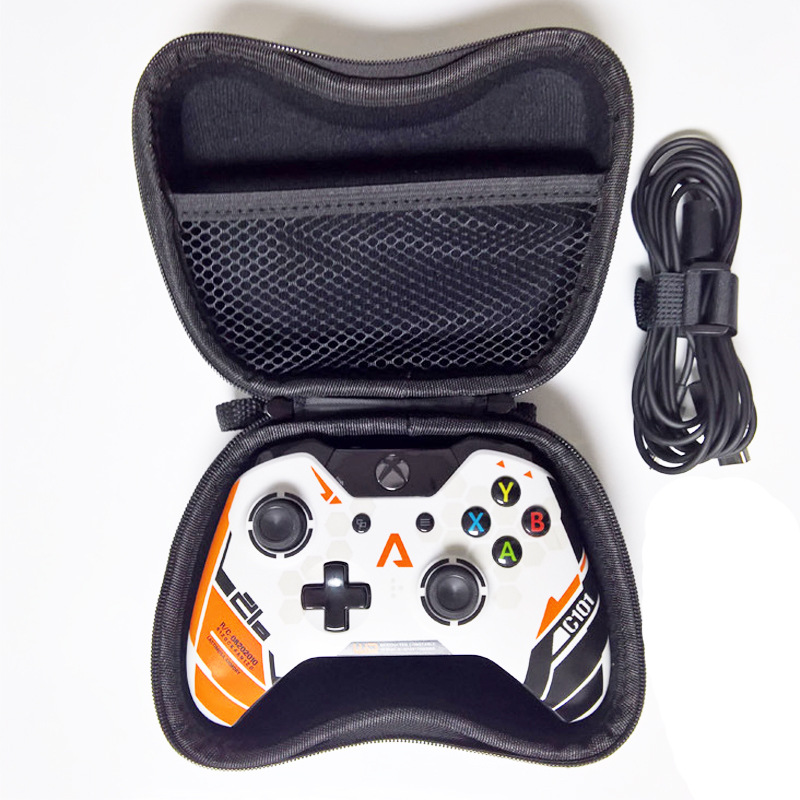 Portable Protective Air Foam Hard Pouch Case For Xbox One Controller Lightweight Easy Carry Bag Case Cover For Xbox One Gamepad