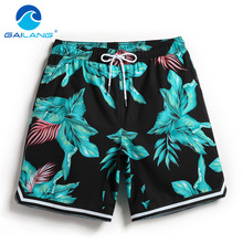 Gailang Brand Swimwear Beach Shorts Quick Drying Boardshorts Boxer Trunks Bermuda Man