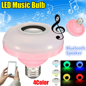 KINCO E27 AC100-240V 8W RGB Bluetooth Wireless Speaker Environment Smart Home Low Power Music Play Colorful LED Smart Light Bulb