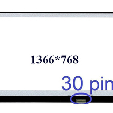 "15,"" 1366*768 edp 30pin ЖК дисплей led экран ноутбука дисплей NT156WHM-N32 N156BGE-LB1 L41 L31 E42 E32 EA2 EB2 NT156WHM-N12"