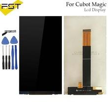 Для Cubot Магия ЖК-экран Идеальный Ремонт Запчасти для Cubot волшебный телефон ЖК-дисплей аксессуары Инструменты + клей