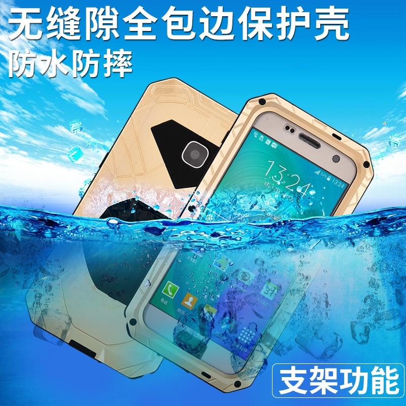 Original iMatch Sports de plein air étanche antichoc en aluminium métal 9 H Gorilla verre téléphone étui pour samsung Galaxy S7 housse de protection