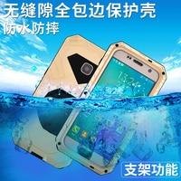 Original IMatch Outdoor Sports Waterproof Shockproof Aluminum Metal 9H Gorilla Glass Phone Case For Samsung Galaxy