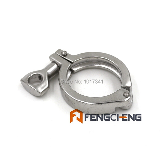 """2"""" Tri Clover Clamp, SS304, 3A Standard, Sanitary Brewer Hardware"""