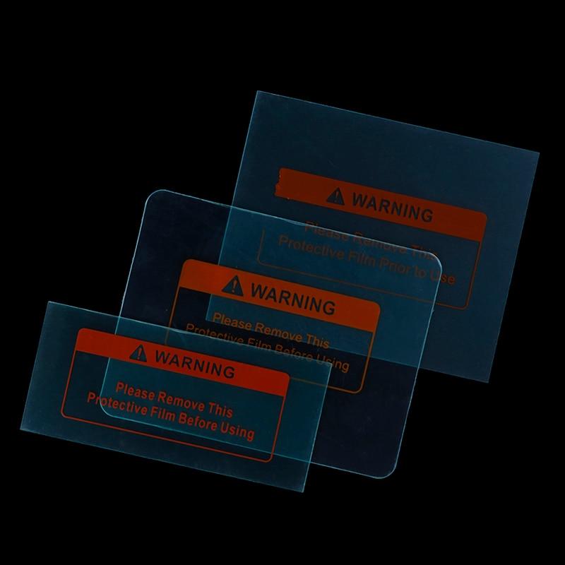 5pcs HUXUAN New Spare Welding Shield Cover Lens Protector Plate For Welding Helmet Mask