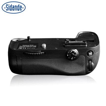 Nouvelle poignée de batterie SIDANDE de BG-E9 pour batterie NIKON D7100