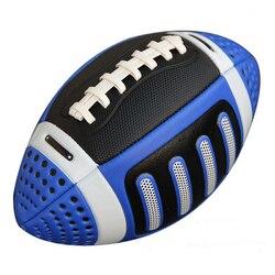 Rugby de goma para niños tamaño 3 americano Francia fútbol pelota Euro entrenamiento Inglaterra Fútbol Playa deportes entretenimiento
