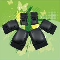 Quality Protection for skateboard&Roller skate&BMX for knee and Elbow &hand suitable for kid &Adult all can use this
