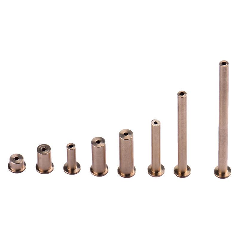 8Pcs/ Set Copper Nail Brass Plug Golf Weight Weights For .335 .355 .370 Tip Steel Shaft 2g 4g 6g 8g Club Head Kits