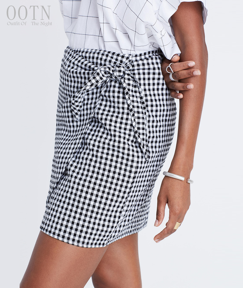 HTB1JAOoSpXXXXXdXpXXq6xXFXXX2 - Women Plaid Short Skirts Black and White Checkered PTC 250