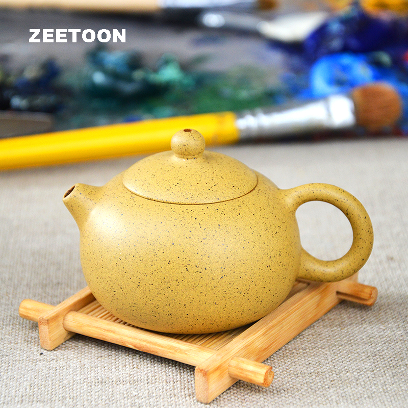 80cc 100cc Authentic Yixing Teapot Mini Xishi Pot Chinese Healthy All Handmade Purple Clay Zisha Kung Fu Tea Set
