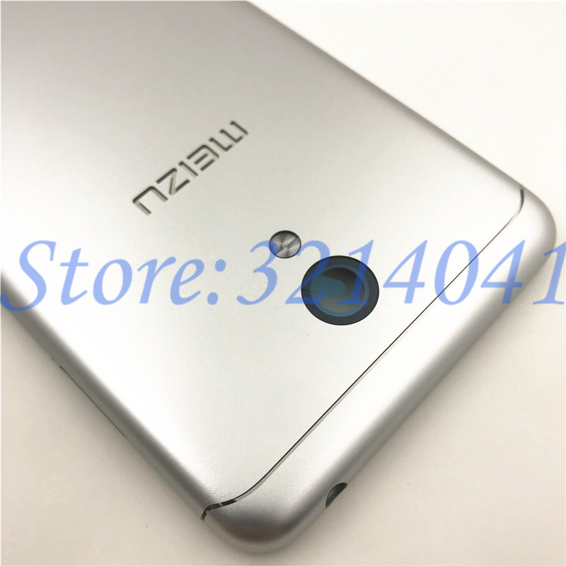 Image 3 - 5.2 inches For Meizu M6 m6 mini M711H M711Q Metal Battery Back Cover Replacement Parts Case+Buttons Camera Lens+side keys-in Mobile Phone Housings & Frames from Cellphones & Telecommunications on