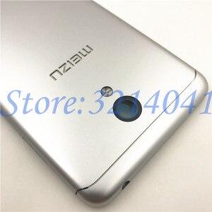 Image 3 - 5,2 zoll Für Meizu M6 m6 mini M711H M711Q Metall Batterie Zurück Abdeckung Ersatz Teile Fall + Tasten Kamera Objektiv + seite tasten