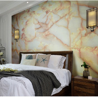 5m Marble Contact Paper 3d Tapety Modern For TV Backsplash Home Wall Art Decor Self Adhesive