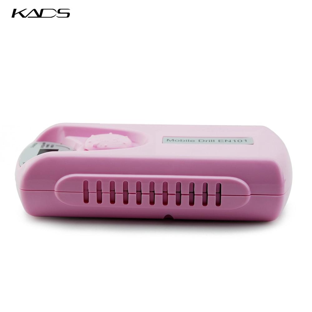 KADS 30000RPM máquina de perforación eléctrica portátil de uñas profesional recargable máquina de conjunto de manicura pedicura para equipos de uñas-in Equipo de decoración de uñas from Belleza y salud    3
