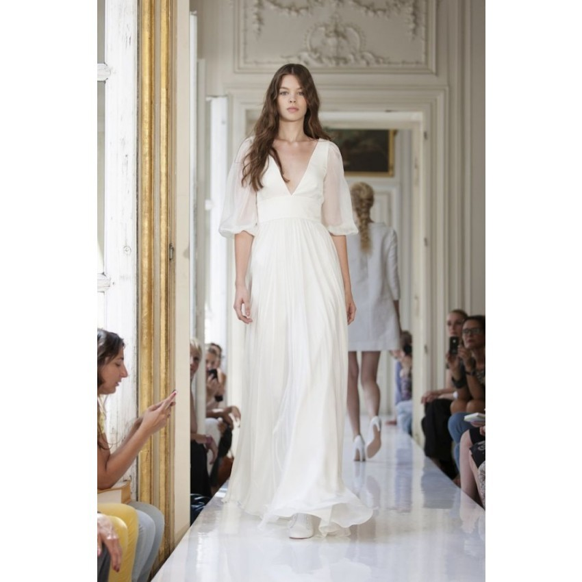 Bell Sleeve Wedding Dress: Compare Prices On Wedding Dress Bell Sleeves- Online