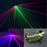 DJ Party Light Glasses Nightclub Performers Laser Flashing Luminescent Glowing Glasses