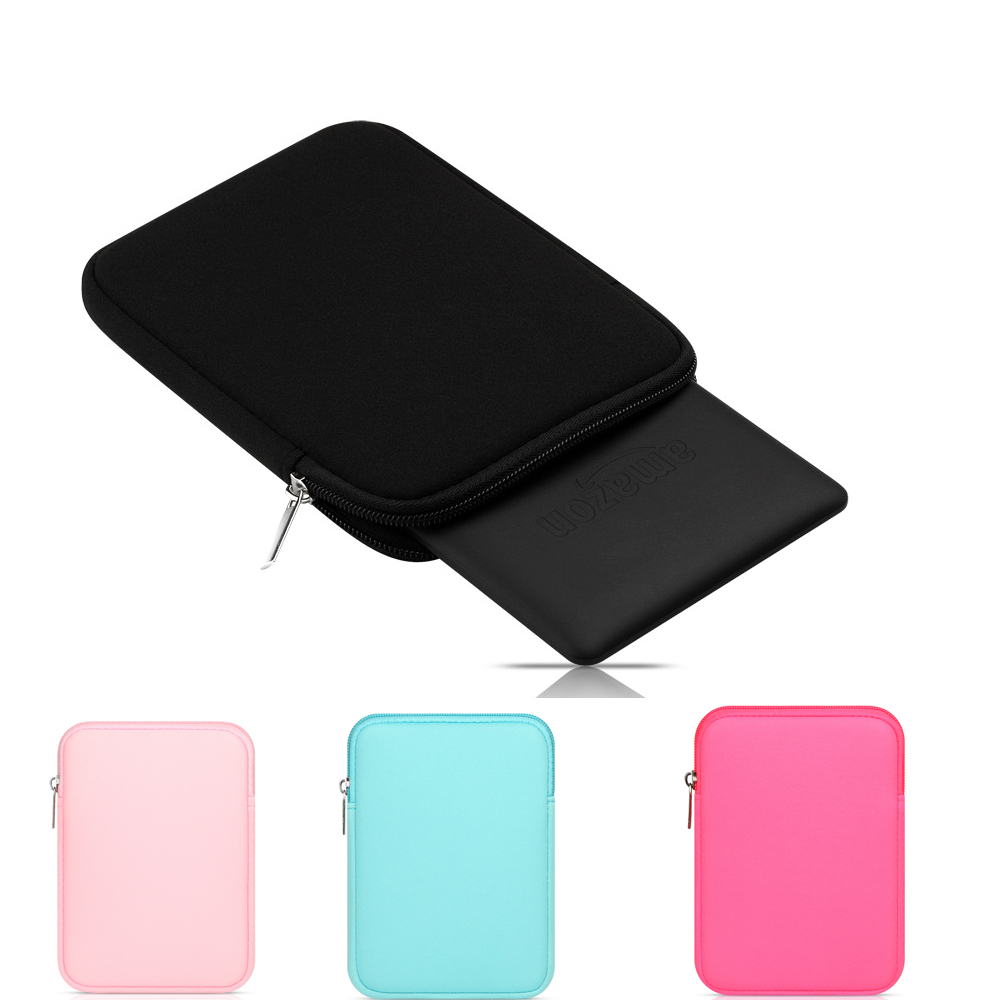 Tablet Sleeve pouch Case for iPad mini 1 2 3 4 for iPad Air 1 2 5 6 pro 9.7 Soft Protective Sleeve Bags for ipad air 1 2 cute candy color soft silicone tablet case cover for ipad 5 6 mini 2 3 fashion slim lovely protective sleeve