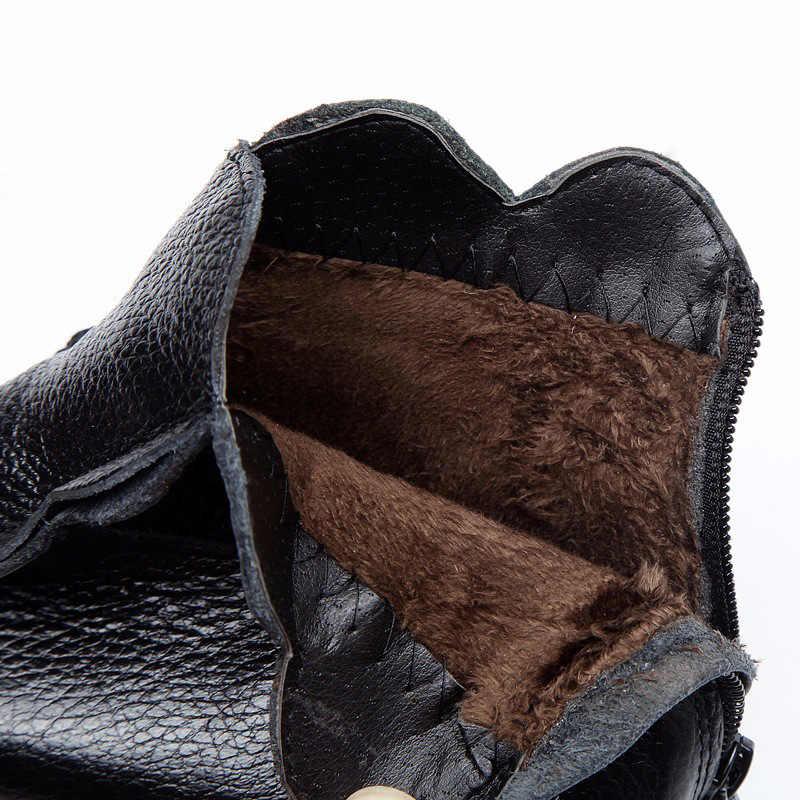 Xiuteng 2018 Sonbahar Ve Yaz Kadın Hakiki Deri Çizmeler anne El Yapımı Vintage Çiçek Ayak Bileği Botines Düz Tabanlı Ayakkabılar Kadın