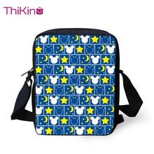 Thikin Small Mickey Shoulder Bag for Kids Boys Mini Square Messenger Bags Children Travel Crossbody Versipacks