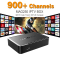 MAG 250 Iptv Set Top Box Sky Italy UK DE Linux European IPTV Box For Spain Portugal Turkish Netherlands MAG250 Wifi IPTV Tv Box