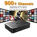 MAG 250 Iptv Set Top Box Sky Italy UK DE Linux European IPTV Box For Spain Portugal Turkish Netherlands MAG250 Wifi IPTV Tv Box