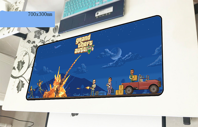 gta mouse pad gamer Adorable 700x300x2mm notbook mouse mat gaming mousepad large cool new pad mouse