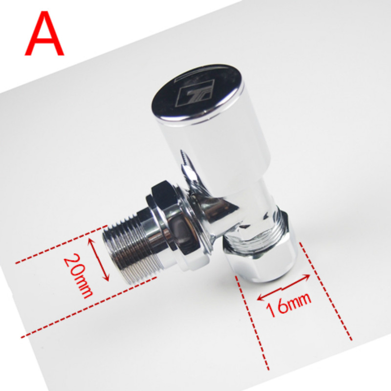 manual radiator valve Thermostat raditor temperature control valve Two-way Thermostat valve Angle valve цена