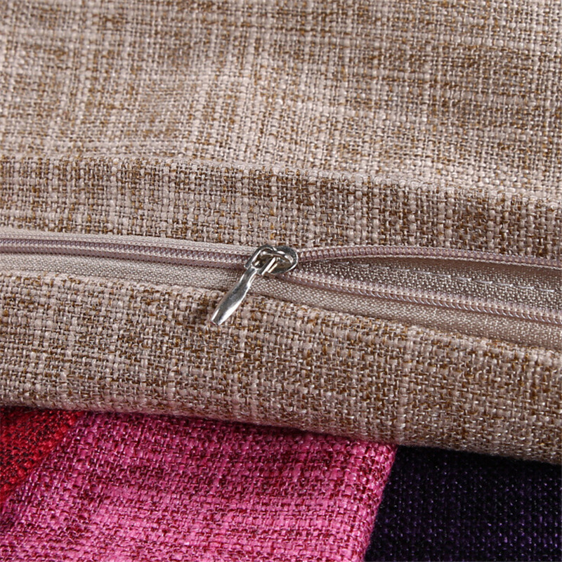 55x55cm Large Square 12 Solid Colors Cotton Linen Sofa Decorative Cushion Cover Throw Pillowcase Home Decor