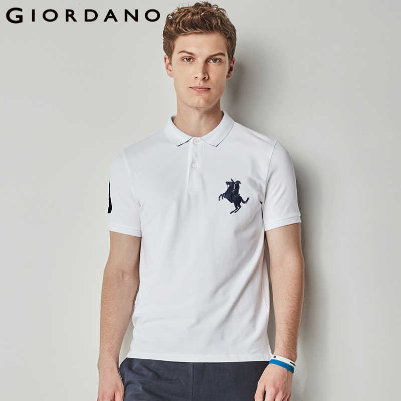 4cbadaee8 Detail Feedback Questions about Giordano Men Polo Shirt Men Napoleon Embroidery  Polo Homme Pattern Polo Camisa Shirt Masculina New Arrival Polo Shirts Male  ...
