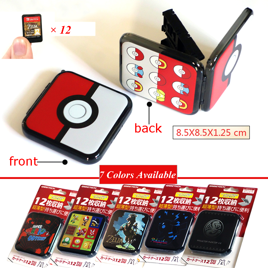 12 in 1 Accessories Nintend Switch Portable Game Cards Case Shockproof Hard Shell Storage Box For Nintendo Switch NS Game nintend switch joy con
