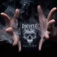 1 Deck Bicycle Dead Soul Playing Cards Magic Tricks Black Colors Standard Poker Magic Card Magic