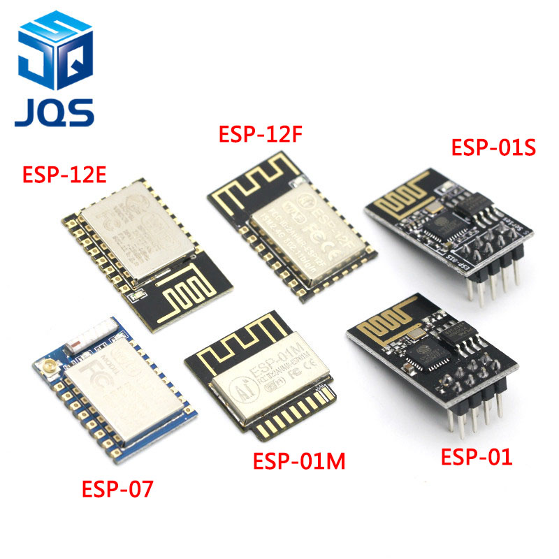 ESP8266 ESP-01 ESP-01S ESP-07 ESP-12 ESP-12E ESP-12F Serial WIFI Wireless Module Wireless Transceiver