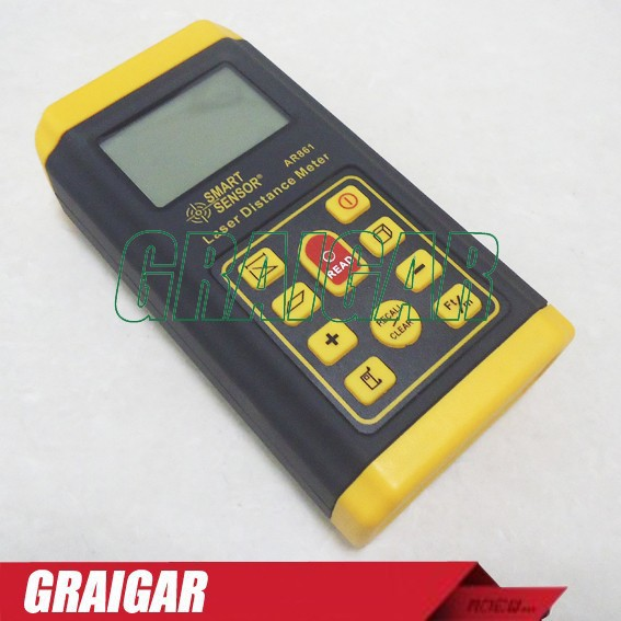 Smart Sensor AR861 Laser Range Finder, Laser Distance Meter Measure 0.3-60mSmart Sensor AR861 Laser Range Finder, Laser Distance Meter Measure 0.3-60m