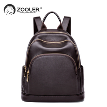2019 new High quality ZOOLER brand Genuine leather backpack cow leather backpacks large capacity luxury travel tote bag#HH200