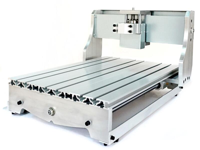 Mini CNC Engraving Machine Parts 3040 Lathe Bed Frame with Ball Screw DIY CNC Frame 3040 for CNC 3040 Milling Machine