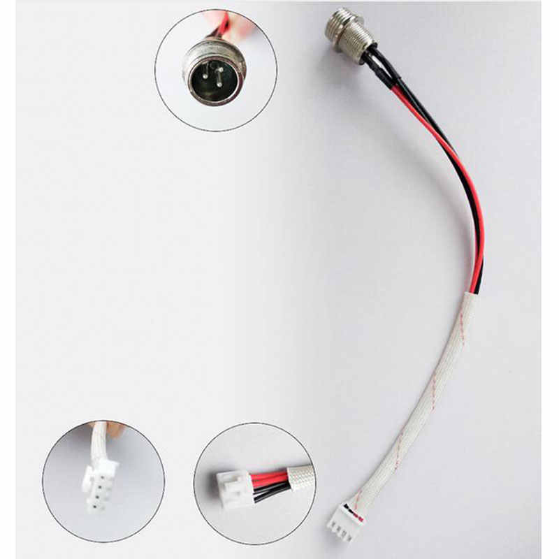 Self Balancing Scooter 3 Pin 4 Female Plug Charging Port Replacement Part