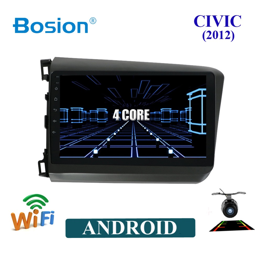 Bosion Android 8 car dvd withgps multimedia player For Honda Civic 2012 car dvd navigation raido video audio player no car dvd