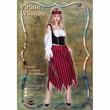 Halloween Stage Props Performance Clothing Ladies Pirate Costumes