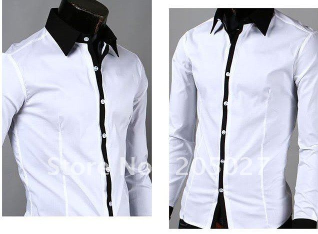 Popular Best White Dress Shirts for Men-Buy Cheap Best White Dress ...