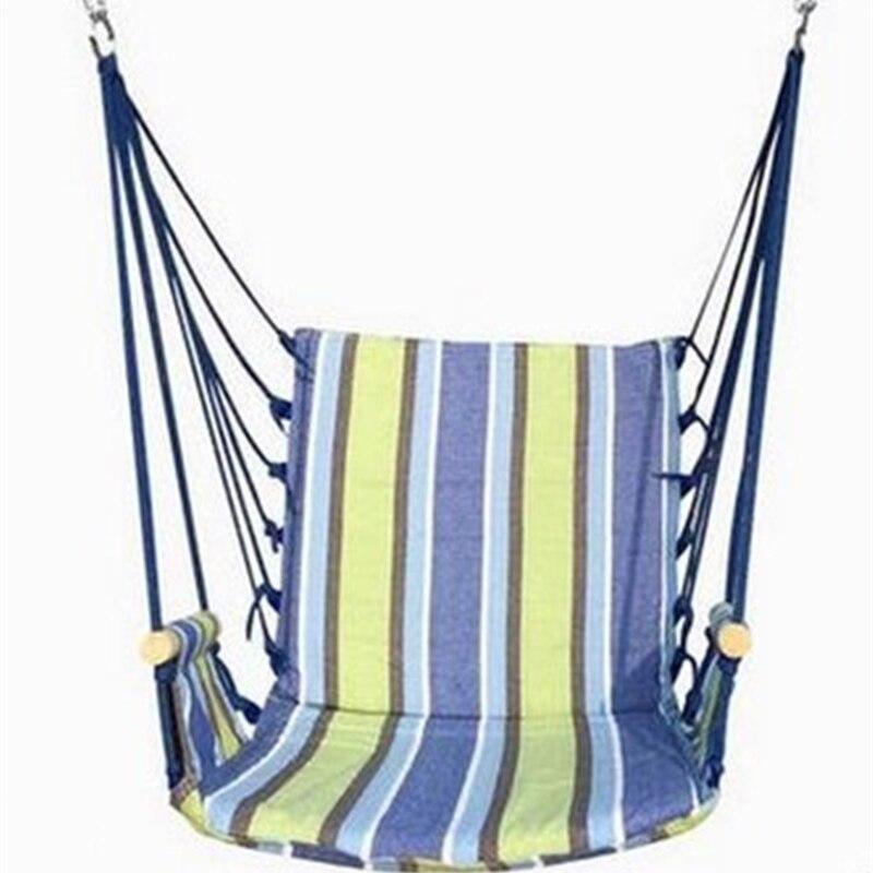 Hamac extérieur dortoir chambre balançoire envoyer attacher poche couleurs balancer chaise suspendue hamac toile épaisse