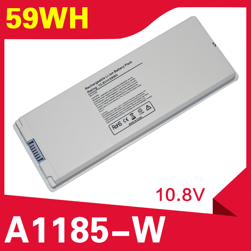 ApexWay A1185 Laptop Battery For Apple MacBook 13