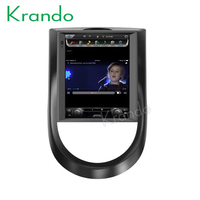 Krando Android 7.1 9.7 Tesla Vertical touch screen car audio stereo radio multimedia system for Kia soul GPS navigation player